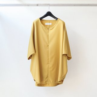 prasthana - slick shirt (mustard)