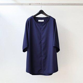 prasthana - slick shirt (navy)