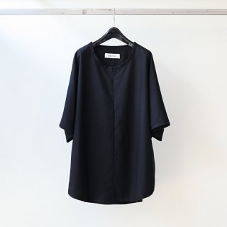 prasthana - slick shirt (black)