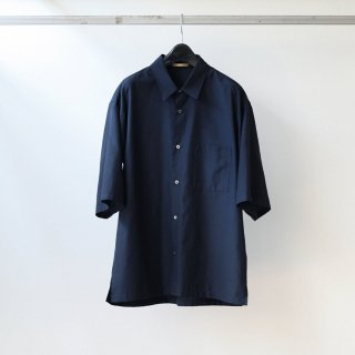 LAMOND - WIDE SHIRTS (NAVY)