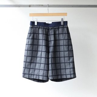 SOUMO - Belted Shorts (Black CH)