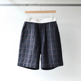 SOUMO - Belted Shorts (Brown CH)