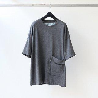 Dulcamara - ロールスリーブT (Charcoal Gray)