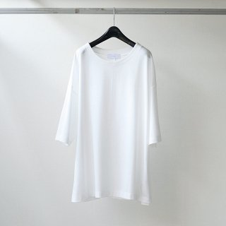 THEE - over size kanoko tee (WHITE)