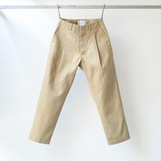 SOUMO - BIG TUCK CHINO type-1 (BEIGE)