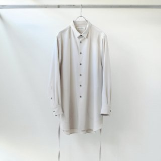 prasthana - strings long shirt (ivory)