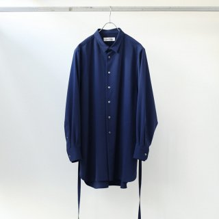 prasthana - strings long shirt (blue)