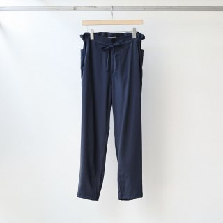 LAMOND - CUPRO FRENCH RELAX PANTS (NAVY)