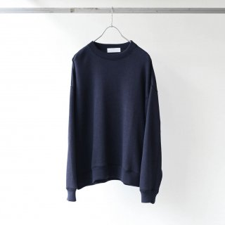 bunt - REVERSE SWEAT SHIRTS (NAVY)