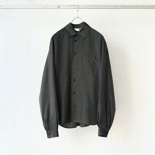 THEE - long epaulette shirts (olive)