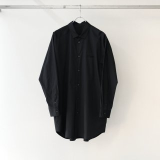 Dulcamara - ヨークスリーブシャツ-P (Black)
