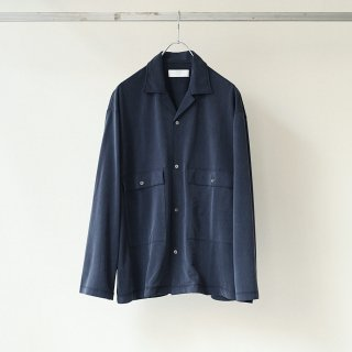 bunt - CUPRA JERSEY BIG POCKET SHIRTS (Navy)