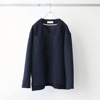 bunt - SHIWADAN LOOP BUTTON JACKET (Navy)