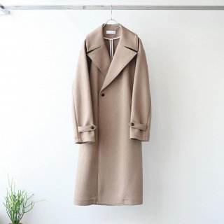 bunt - SHIWADAN BIG COLLAR GOWN COAT (Brown)