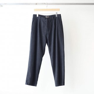 LAMOND - MOLESKIN STRETCH TROUSERS (CHARCOAL杢)