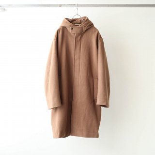 LAMOND - ENGLAND LAMB WOOL OVERCOAT (CAMEL)