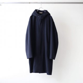LAMOND - ENGLAND LAMB WOOL OVERCOAT (NAVY)