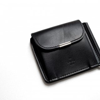 <img class='new_mark_img1' src='https://img.shop-pro.jp/img/new/icons54.gif' style='border:none;display:inline;margin:0px;padding:0px;width:auto;' />20/80 - KIP LEATHER CLIP WALLET (BLACK)