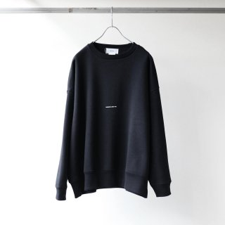 BREATHE. (ever so soft) - INSTRUCTION CREW SWEAT 'SOMEONE LIKES YOU' (BLACK)