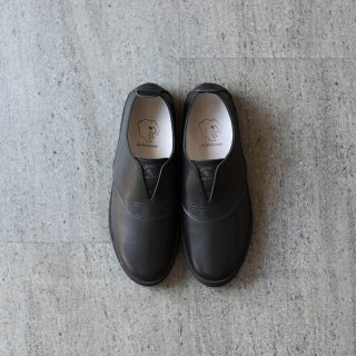 DOUBLE FOOT WEAR - Hans BLACK LEATHER