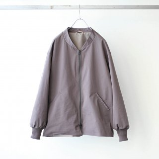 LAMOND - OVER BLOUSON (MAROON GRAY)