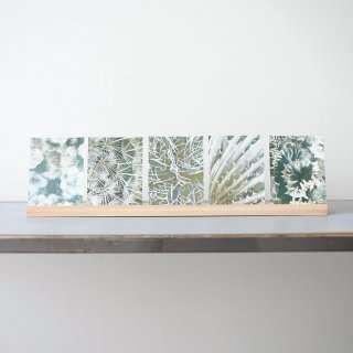 Bienvenue Studios - Wood Card Holder Long