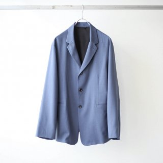 THEE - 3 button box jacket (blue)