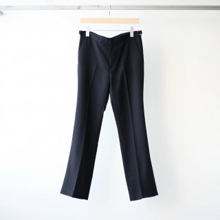 THEE - beltless flare pants (black)
