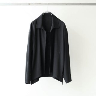 THEE - side slit jacket (black)