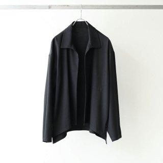 THEE - side slit jacket (black)