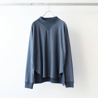 bunt - COMFY MOCK NECK SWEAT (NAVY)