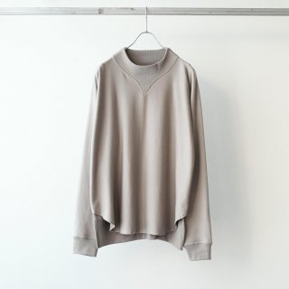 bunt - COMFY MOCK NECK SWEAT (BEIGE)