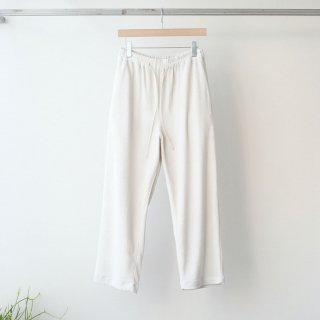 bunt - PILE EASY PANTS (ECRU)