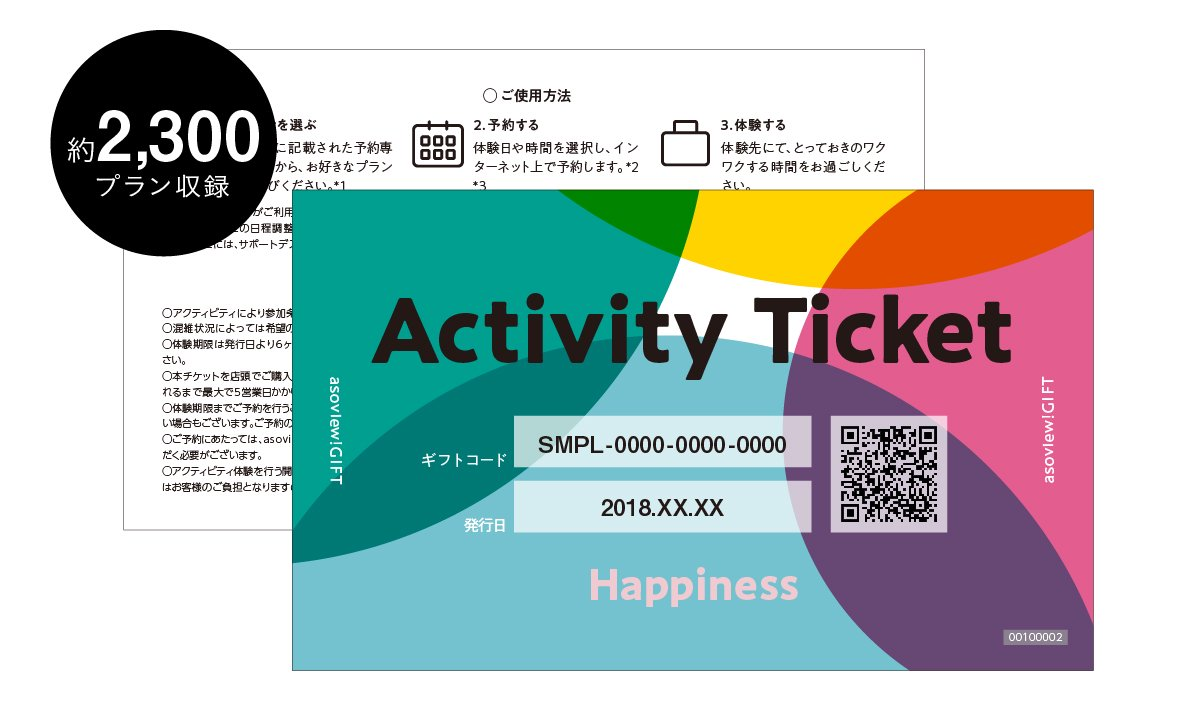 Asoviewgift happiness ticket asoviewgift gift happiness ticket asoviewgift negle Images