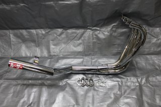 Z400FX LOSER ワンピース メッキ アルミフランジ