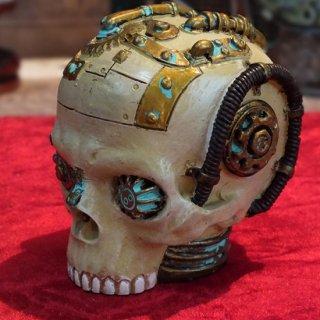 スチームパンク スモールスカルヘッド タイプ� Steampunk Small Skull
