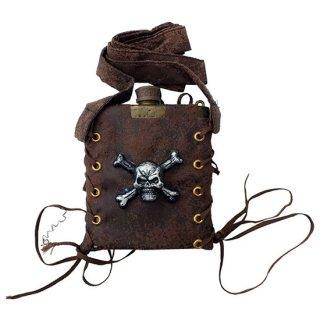 海賊フラスコボトル アンティークゴールド Pirate Flask Gd
