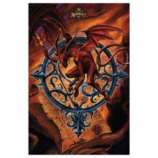アルケミーゴシック アートポスター Astrolabeus Archduke of Chaos
