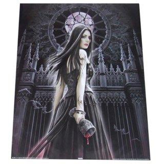Anne Stokes ゴシックダークアートミニポスター  Gothic Siren