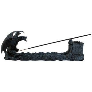 ドラゴンインセンスバーナー(像)Dragon Castle Incense Burner