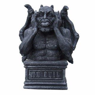 ゴシックガーゴイル像 ダイモス Hear No Evil 聞かざる