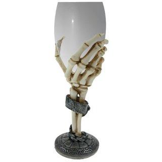 スケルトンハンドワイングラス Skeleton Hand Wine Glass