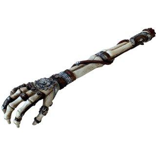 スチームパンクスケルトンアーム バックスクラッチャー(孫の手) Steampunk Skeleton arm back scratcher