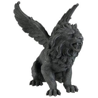 ウイング ライオン ガーゴイル フィギュア Winged Lion Gargoyle Figurine