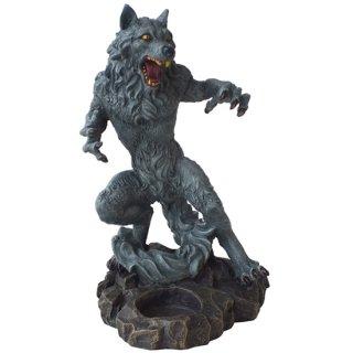 ウルフ キャンドルホルダー ゴシックフィギュア Gothic WareWolf Candle Holder Figurine