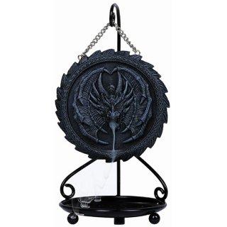ゴシックドラゴン(逆流香コーン) 香炉バーナーオブジェ Gothic Dragon Backflow Incense Burner