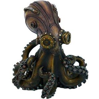 スチームパンク オクトパス(タコ)フィギュア Steampunk Octopus Statue Figurine