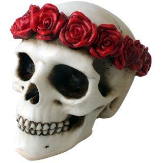 フラワースカルヘッド Flower Skull Head