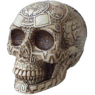マヤ文明 アステカ(暦石)カレンダー アステカスカル Aztec Skull