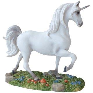 ユニコーンスタチュー ホワイト Unicorn White Statue